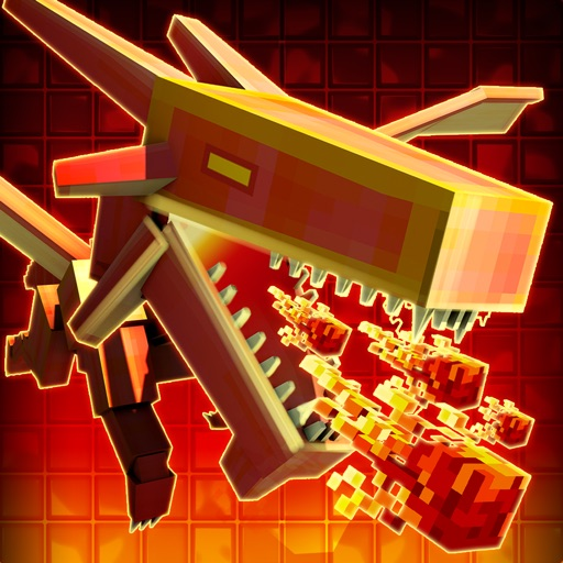 3D Dragon Run Blocky Game For Free
