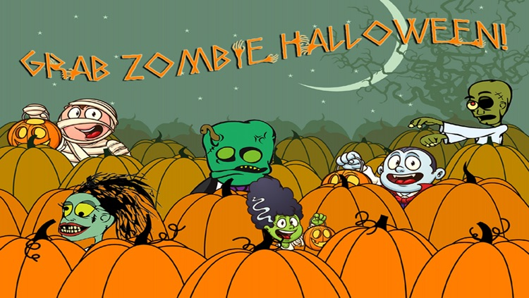 Zombie Halloween, Pumpkin Patch Fun Games screenshot-3