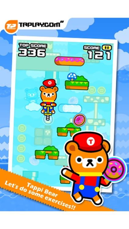 Tap Tap Spring - Tappi Bear screenshot-0