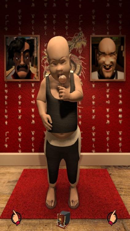 Talking Karate Kid for iPhone screenshot-4