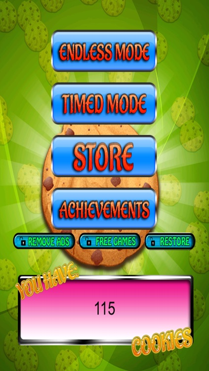 Cookie Baker fun free sweet game