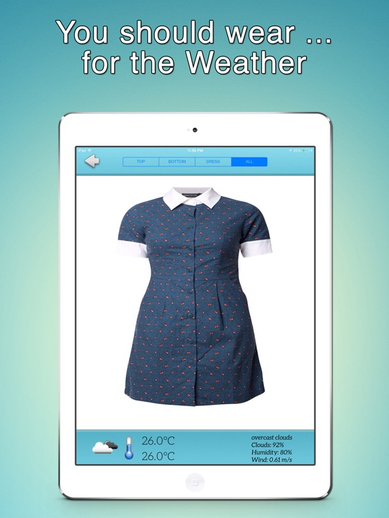 What Should I Wear for The Weather - iPad Version screenshot-2