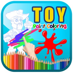 Toy Paint Coloring Kids Story