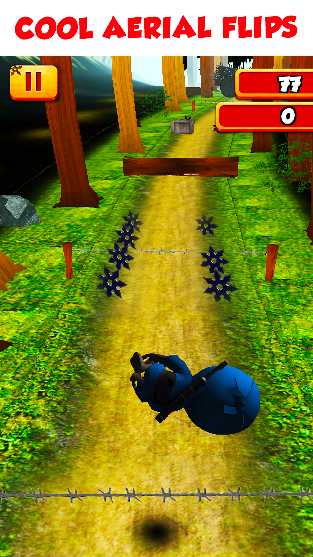 3D Tiny Ninja Fun Run Free - Mega Kids Jump Race To The Aztec Temple Gamesのおすすめ画像3