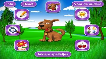 Spelletjes om kleuters te leren lezen screenshot one
