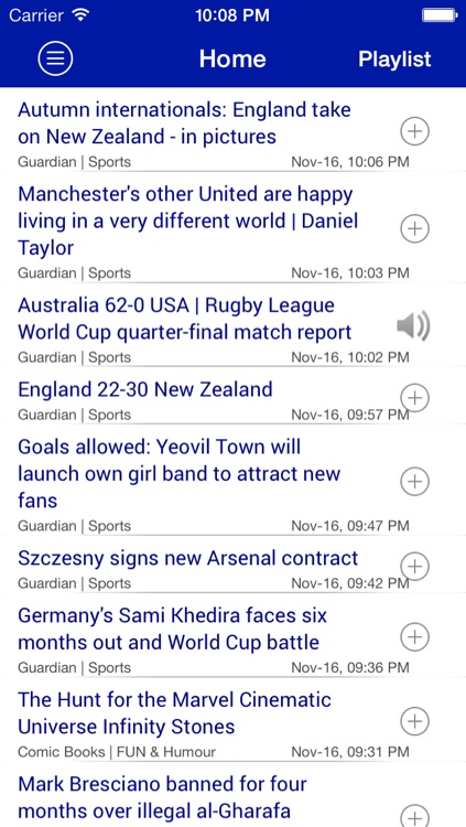 News Player: Listen News everywhere anytime