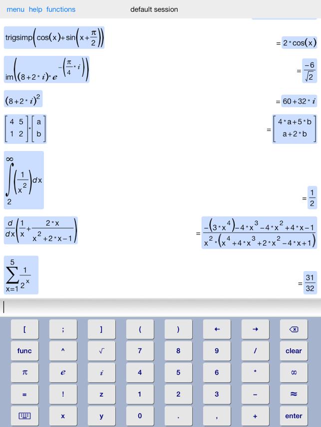Symbolic Calculator Hd On The App Store