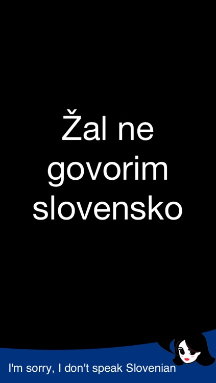 Lingopal Slovene LITE - talking phrasebook screenshot-2
