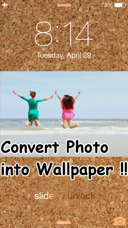 Convert Your Photo/Picture into Wallpaper
