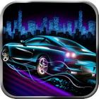 Nitro Neon Car Racing Polícia Perseguição Jogo icon