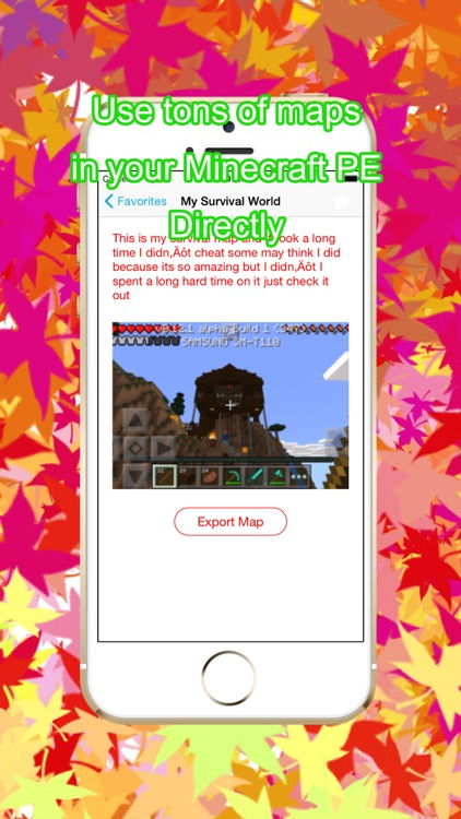 Maps Pro for Minecraft PE Game screenshot-0