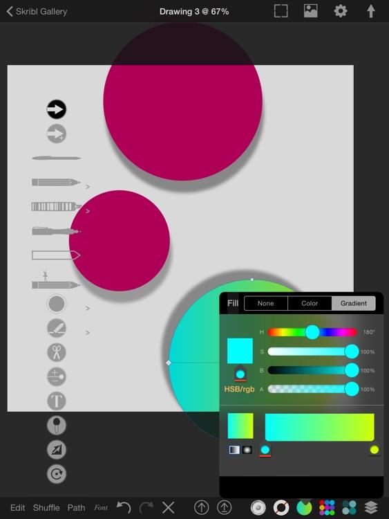 Skribl - Vector Drawing Reimagined