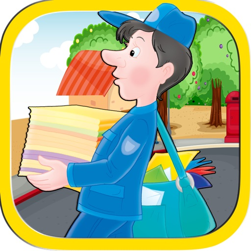 Mail Man Delivery Runner Jumping Race Mania - Rival Boy Bounce Racing World Free