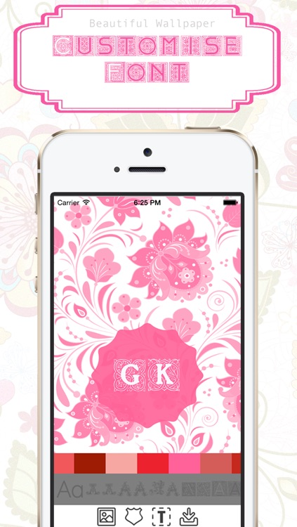 Monogram Wallpaper Maker screenshot-4