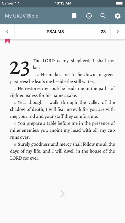 My UKJV Bible
