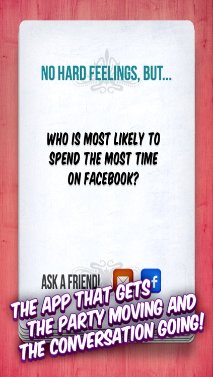 MOST LIKELY - a party game! screenshot-4
