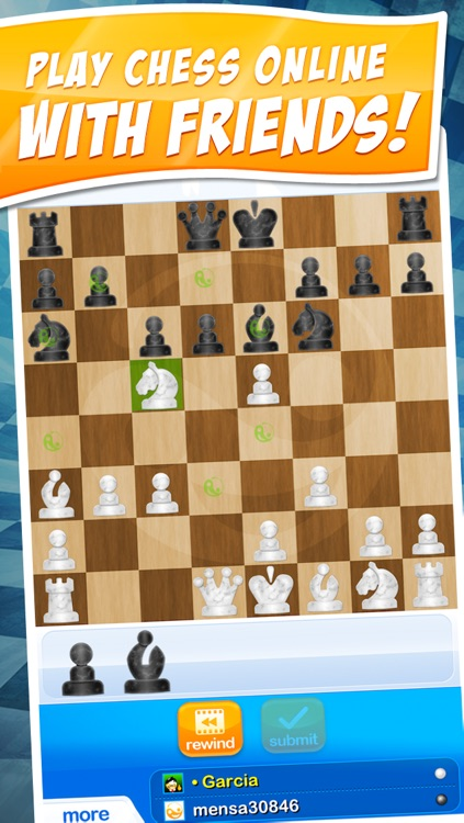 Your Move Chess ~ free online with friends and family by