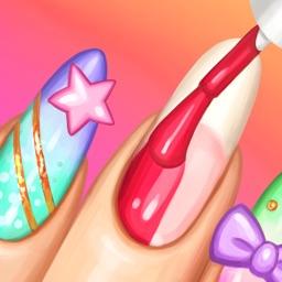 Celebrity Nail Art and Pretty Nail Polish Designs - Nail Makeover Salon