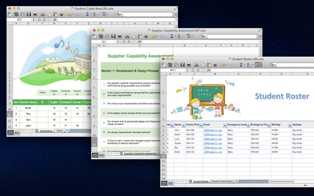 Cool Excel Templates For Microsoft Excel Edition On The Mac App Store