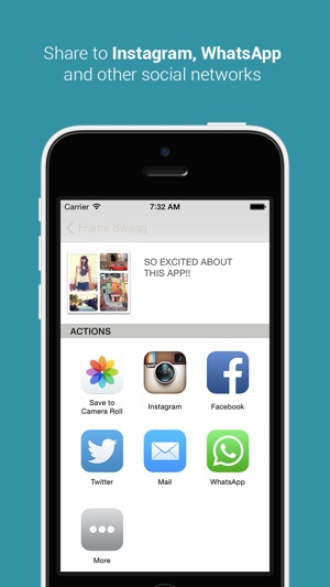 Frame Swagg - Photo collage maker to stitch pic for Instagram FREE ...