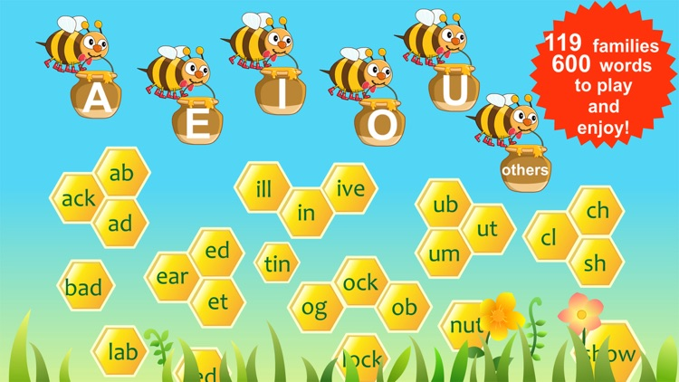 Amazing Word Family- Educational Learning Apps for Kids Free screenshot-0