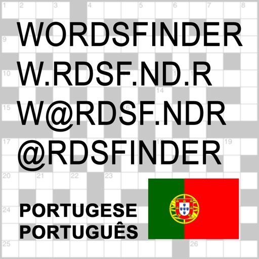 PT Words Finder Pro Portugese/Português - find the best words for crossword, Wordfeud, Scrabble, cryptogram, anagram and spelling