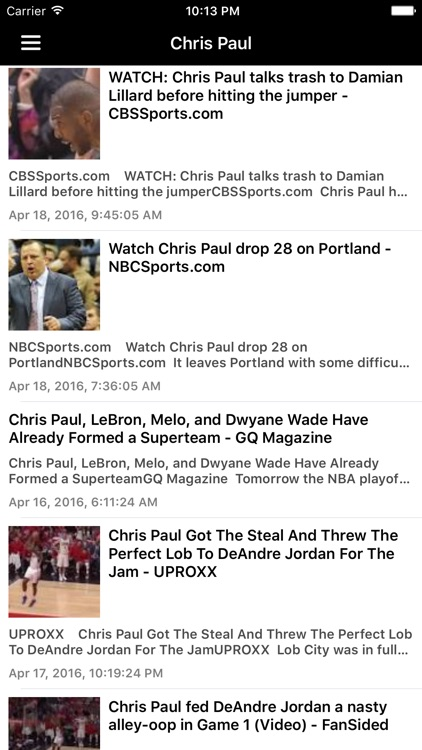 News Surge for Clippers Basketball News Pro screenshot-4