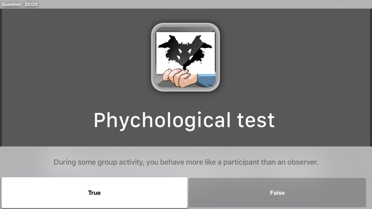 Psychological Test TV