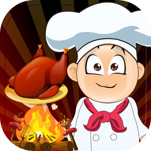 Forest Hunger Fire Cooking Games - Rapidly Serve the Medieval Kngihts Orders!