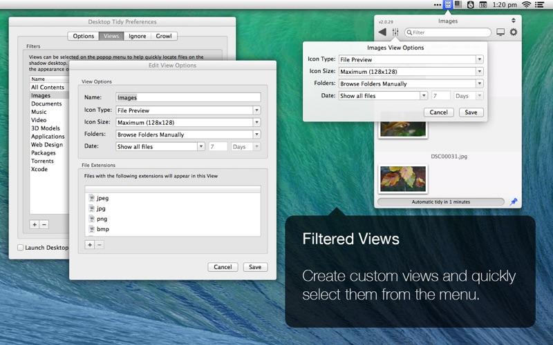 Desktop Tidy Screenshot
