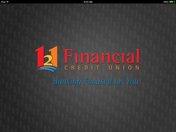 121 Financial Mobile Banking for iPad