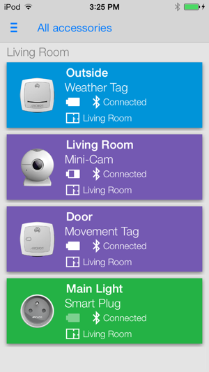 ?Archos Smart Home Screenshot