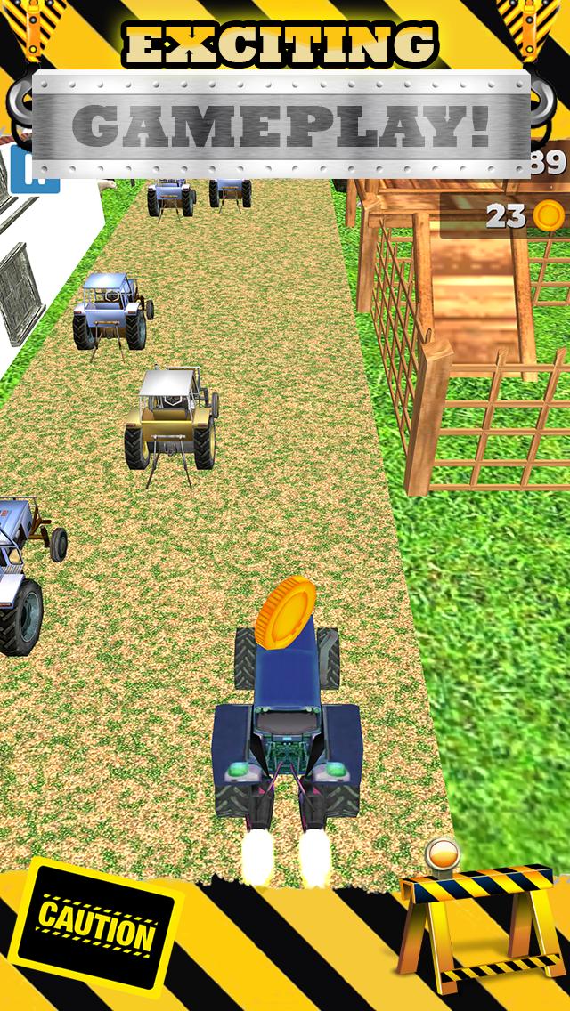 無料で恐ろしい男の子と子供のためのトップファームレースゲームで3Dトラクターレースゲームのおすすめ画像2
