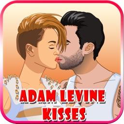 Adam Levine Kisses