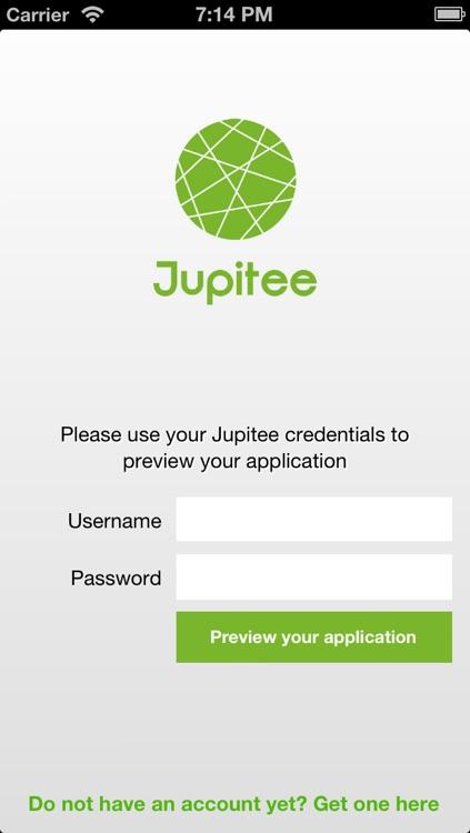 Jupitee Preview App
