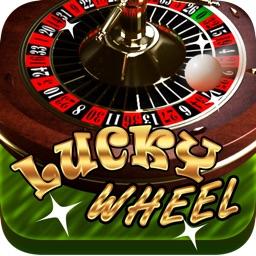Mega Lucky Roulette Casino Wheel