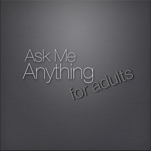 Ask Me Anything for Adults Conversation Starters