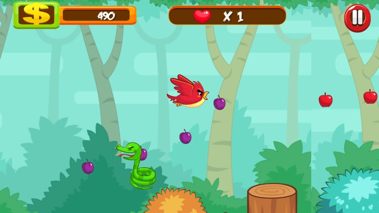 .A Battle of Hungry Birds 360 Degree Shooter Game