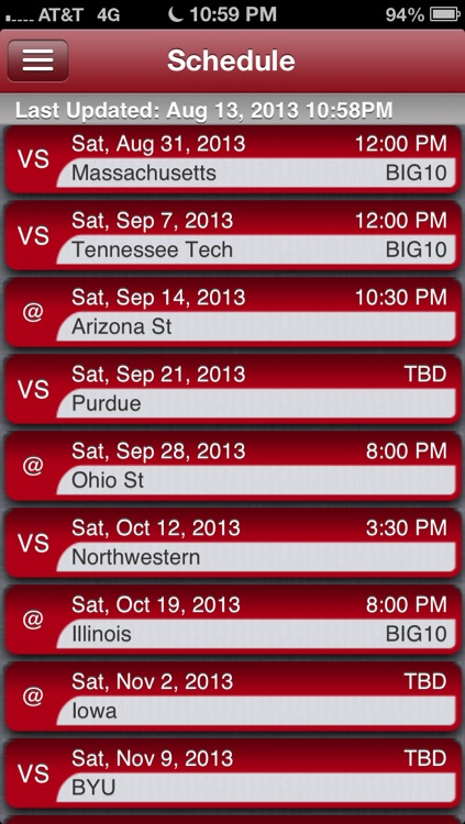 Wisconsin Football Live screenshot-2