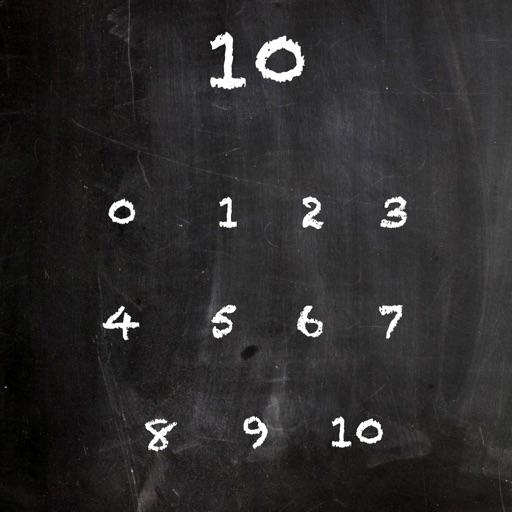 Number Bonds Chalkboard