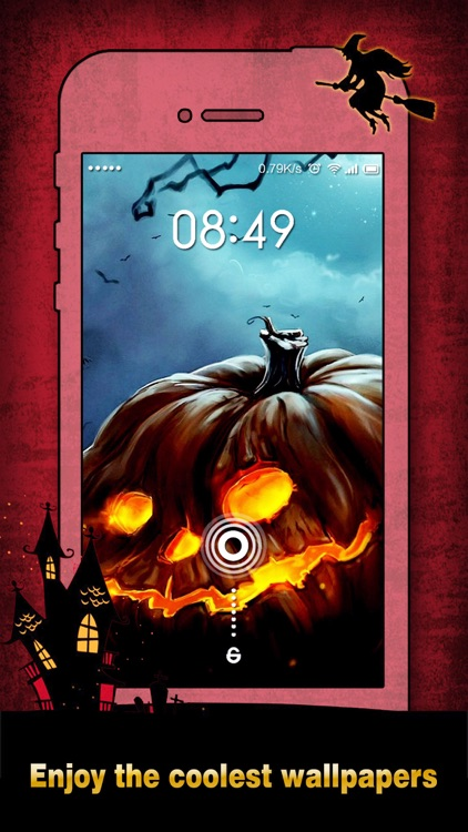 Halloween Wallpapers & Backgrounds HD - Home Screen Maker with Pumpkin, Scary, Ghost Images screenshot-3