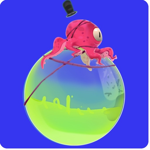 A Octo-Bubble Bounce - Endless Running Flappy Fish Style Game For Boys And Girls