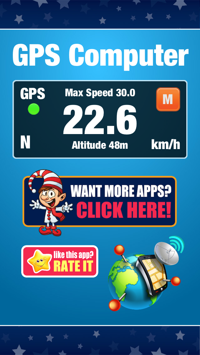 GPS Computer - Car, Bike, Motorcycle Ride Tracker and