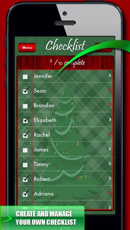 Christmas Organizer & Countdown! Checklist, Planner, Notes & Wallpaper
