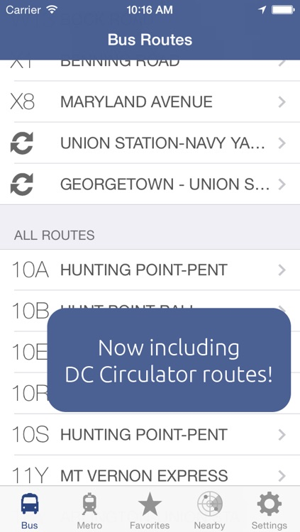 Next DC Metro and Bus
