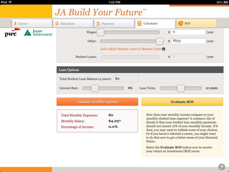 JA Build Your Future™ for iPad screenshot-3