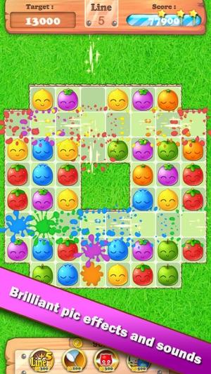 Fruit Blast Pop The Line Match Game Im App Store