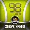 Tennis Serve Speed Radar Gun By CS SPORTS - iPhoneアプリ