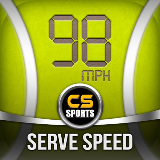 Tennis Serve Speed Radar Gun By CS SPORTS