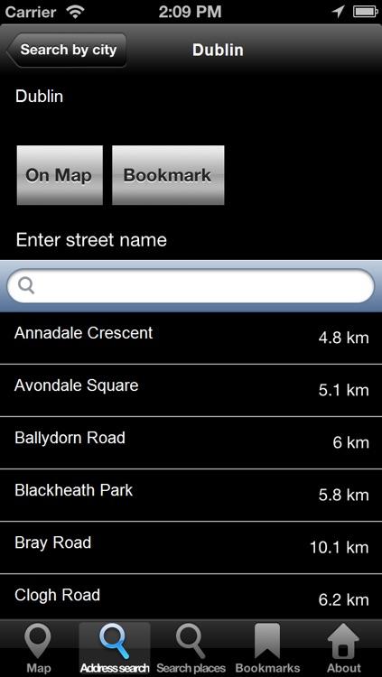 Offline Map Ireland: City Navigator Maps screenshot-3